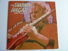 SAMMY HAGAR LIVE LOUD AND CLEAR, RED VINYL LP IN EXCELLENT CONDITION E ST 25330