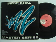 IRENE KRAL w/ JUNIOR MANCE TRIO Jazz Master Series LP DRG MRS 505 1A/1A Matrix