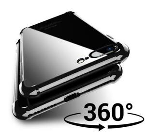 Front Temepred Glass Screen Protector & Clear Back Case for Iphone E 12, XR, Max