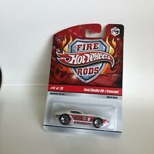 Hot Wheels Fire Rods Ford Shelby GR-1 Concept #14/26 W4