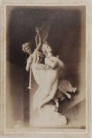 Genoa Cimitero Italia Foto Alfredo Noack PL17c1n33 Vintage Albumina