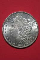 1885 P Uncirculated Vam 1A1 Pitted Revers Hot 50 R4 Morgan Silver Dollar OCE 039