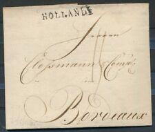 GRENSST. HOLLANDE OP BRIEF AMSTERDAM - BORDEAUX 13 MEI 1805  Zk334