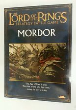 The Lord of the Rings  strategy battle game mordor sourcebook