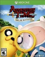 Adventure Time Finn and Jake Investigations: Xbox One: Brand New Sealed Package
