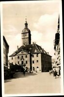 LangensalzaThür. Rathaus Echt Fotografie s/w Ansichtskarte Postkarte AK PK