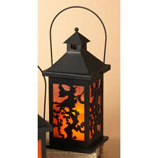 Gerson Halloween Decor - LED Candle Lantern (Witch)