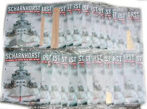 Scharnhorst - Das Panzerschiff als Holzbausatz von Hachette (21 + 1 Ausgaben)