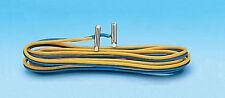 Roco 42613 RocoLine Anschlusskabel 2-polig mit Schienenlaschen H0