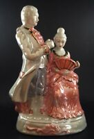 Porcelain Lustre Period Figurine Poss Japanese 9 Inch Tall | FREE Delivery UK*