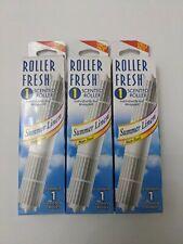 Vintage BSI Summer Ljnen Scented Roller In Sealed Package Non Toxic 3 Pack