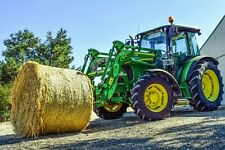 FARM TRACTOR CANVAS PICTURE POSTER PRINT UNFRAMED 6246