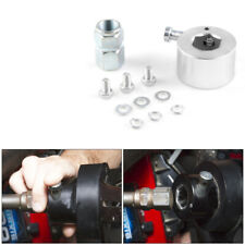 """Racing Steering Wheel Quick Release Disconnect Hub Kit 3/4"""" Shaft Size Silver"""