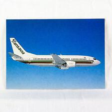 Transavia Airways - Boeing 737-300 - PH HVF - Aircraft Postcard - Mint Condition