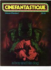 WoW! Cinefantastique V5#1 A Boy And His Dog! Black Moon! Dino De Laurentis!
