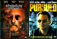 Spreading Ground (DVD, 2005) & Persued (2004) - 2 DVDs