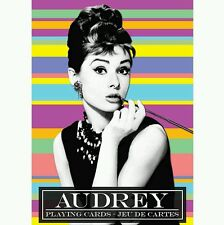 Set of Audrey Hepburn PLAYING CARDS New