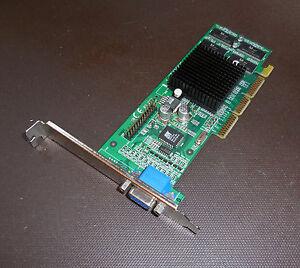 VGA Video Card  Jaton 3DForce2 MX Graphics & Multimedia Accelerator TESTED WORKS