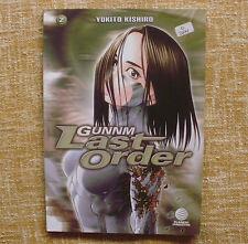 Comic, Gunnm Last Order, número 2, Yukito Kishiro, Planeta DeAgostini, 2004