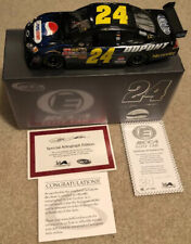 24 JEFF GORDON PEPSI STUFF 2008 RCCA 1/24 ELITE AUTOGRAPHED  31 OF 288 NEW