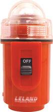 "Leland Emergency 4.25"" Strobe Light Orange U.S. Coast Guard Approved"