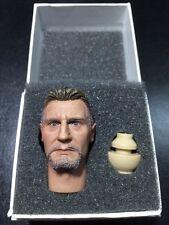 "1/6 League of Shadow Ninja Master Ra's al Ghul Liam Neeson Headsculpt fit 12"""