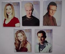 BUFFY THE VAMPIRE SLAYER COLLECTORS SET S2 Complete 5 Card Metal Set