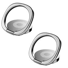 2x Universal 360 Rotating Finger Ring Stand Holder & Stand Mounts For Cell phone
