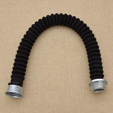 Atemschutzmaskschlauch Gasmaskenschlauch Faltenschlauch Schwarz Weiß Gummi 57cm