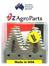 Tiger Shark Knife Sections Dura twin to fit John deere cutter , H163131, H153329