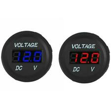 DC 12V LED Panel Digital Voltage Volt Meter Display Voltmeter Motorcycle M2M0