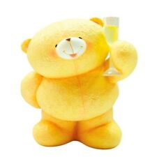 More details for forever friends collectors celebration bear figurine - cheers