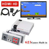 Classic Video Game Console HDMI Mini Retro Game Console Built-in 621 Games
