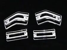 NEW VESPA PX/LML INDICATOR PROTECTOR PLASTIC CHROME GRILL SET OF 4 #VP733 @PUMMY