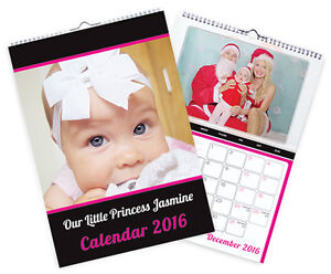 2020/21 A4 PERSONALISED PHOTO CALENDARS - IDEAL FOR CHRISTMAS PRESENTS