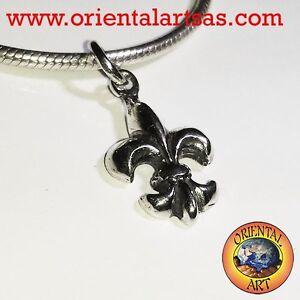 Anhänger Giglio (Heraldik) aus Silber