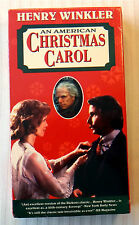 An American Christmas Carol ~ VHS Movie ~ Henry Winkler Holiday Classic Video
