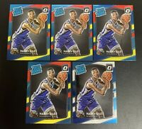 HARRY GILES Optic RATED ROOKIE Red/Yellow (x4) & 1x Blue/White RC Lot PSA 9/10?