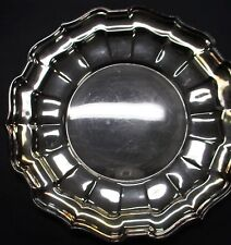 Silverplate Serving Plate REED & BARTON 46 Chippendale 9.75 inches