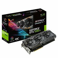ASUS ROG-STRIX-GTX1080TI-O11G-GAMING GeForce 11GB OC Edition VR Gaming HDMI Over