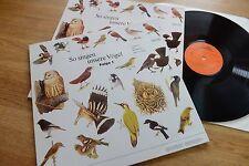So singen unsere Vögel Folge 1&2 Vogelstimmen Hans A. Traber VLP 103/4