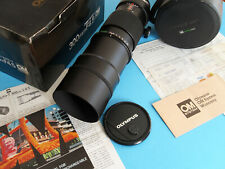 Very Nice Olympus Zuiko 300mm F4.5 Tele Lens OM Mnt/Case, adapts to Micro 4/3rds