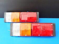 Pair Rear Combination Tail Light Plastic For Isuzu KB Bedford S250 Pickup Mini