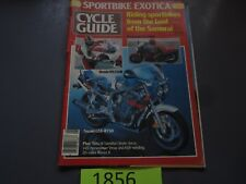 MAY 1985 CYCLE GUIDE MAGAZINE SUZUKI GSXR750, HONDA NS250R, KAWASAKI GPz400R