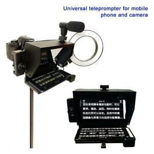 Mini teleprompter Prompter teleprompter Artifact DSLR Recording Remote Control