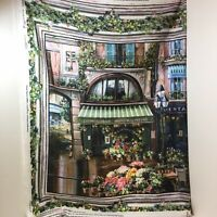 Flower District Fabric Panel Sweet Home Classic Wall Hanging Curtains