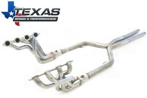 "2008-2009 Pontiac G8 Texas Speed 1-7/8"" Stainless Long Tube Headers & O/R X-Pipe"
