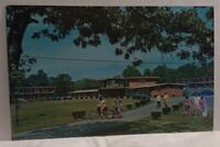 Pleasant View Lodge Gold Club Freehold NY Exterior Vtg Advertising Postcard