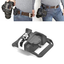 Clip Loading Fast Holster Hanger Mount Waist Belt Buckle Holder for Camera DSLR
