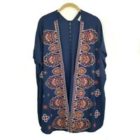 ALTAR'D STATE Embroidered Kimono Cardigan Women's Size M